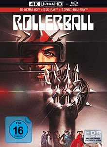 Rollerball - 3-Disc Limited Collector's Edition im Mediabook (UHD + Blu-Ray + Bonus-Blu-Ray)
