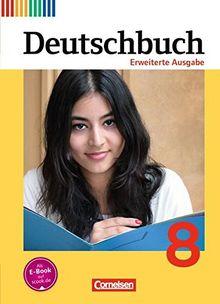 Deutschbuch - Erweiterte Ausgabe / 8. Schuljahr - Schülerbuch