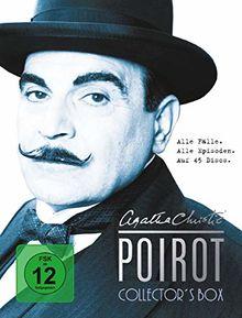 Agatha Christie - Poirot, Collector's Box. Alle Fälle. Alle Episoden. (45 Discs)