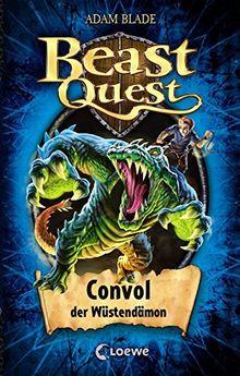 Beast Quest - Convol, der Wüstendämon: Band 37