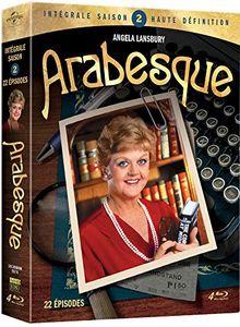 Coffret arabesque, saison 2, 22 épisodes [Blu-ray] [FR Import]