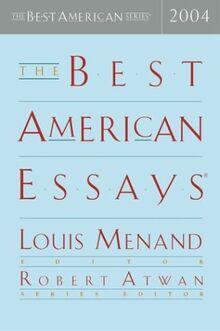 Best American Essays 2004