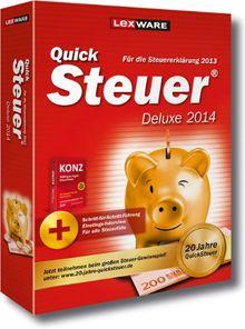 QuickSteuer Deluxe 2014 (für Steuerjahr 2013)