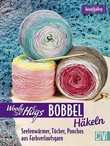 Woolly Hugs Bobbel Häkeln Seelenwärmer Tücher Ponchos Aus