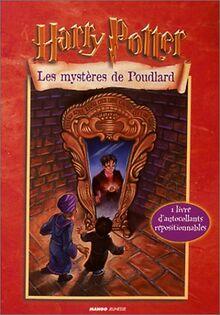 Harry Potter : Les mystères de Poudlard. : Autocollants repositionnables (Pers. Harry Potter)