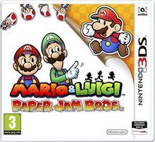 Mario & Luigi Paper Jam Bros Jeu 3DS