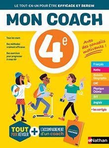 Mon coach - Toutes les matières 4e (Mon coach Collège)