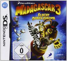 Madagascar 3 - Flucht durch Europa - [Nintendo DS]