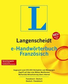 Langenscheidt e-Handwörterbuch Französisch 6.0