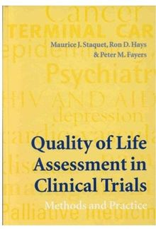Quality of Life Assessment in Clinical Trials: Methods and Practice (Oxford Medical Publications)