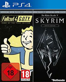 Bethesda RPG Pack (Fallout G.O.T.Y. / SKYRIM Special Edition) - [PlayStation 4]