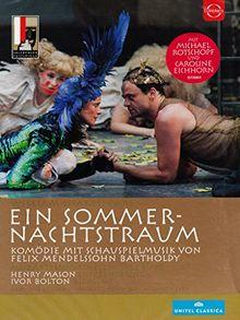 SHAKESPEARE/MENDELSSOHN BARTHOLDY: Ein Sommernachtstraum (live aus dem Residenzhof, Salzburg, 2013) [DVD]