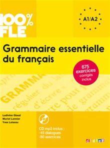 Grammaire essentielle du français A1-A2 (1CD audio MP3)