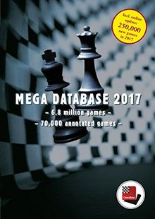 Mega Database 2017, DVD-ROM6,8 million games. 70.000 annotated games