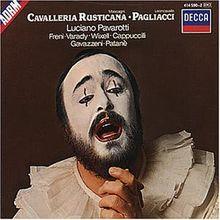 Leoncavallo: Cavalleria Rusticana (Gesamtaufnahme) (ital.)