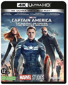 Captain america 2 : le soldat de l'hiver 4k ultra hd [Blu-ray] [FR Import]