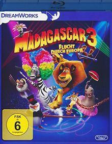 Madagascar 3 - Flucht durch Europa [Blu-ray]