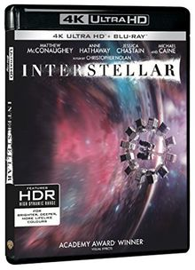 Interstellar 4k ultra hd [Blu-ray] [FR Import]