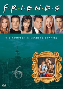Friends - Die komplette sechste Staffel (4 DVDs)