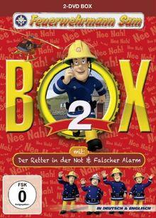 """Feuerwehrmann Sam Box 2 (inkl. """"Der Retter in der Not & """"Falscher Alarm"""") [2 DVDs]"""