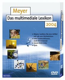 Meyer - Das multimediale Lexikon 2004 (PC-DVD)