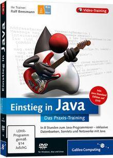 Einstieg in Java - Das Video-Training auf DVD