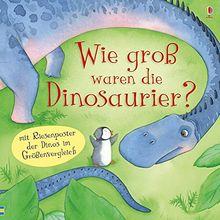Wie groß waren die Dinosaurier?