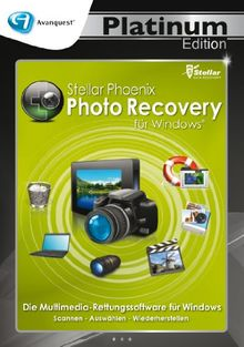 Stellar Phoenix Photo Recovery - Avanquest Platinum Edition