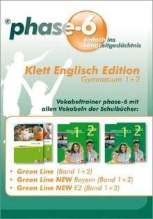 phase-6 - Klett Englisch Edition, Gymnasium 1+2