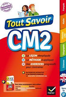 Tout Savoir...: Cm2