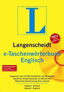 Langenscheidt e-Taschenwörterbuch Englisch 5.0