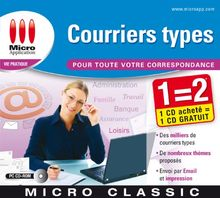 Courriers types
