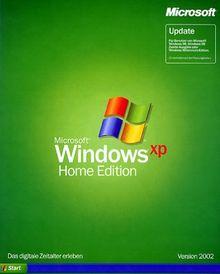 Microsoft Windows XP Home Edition Update
