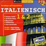Multilingua Italienisch 1 und 2. CD- ROM