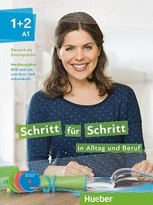 Schritt für Schritt in Alltag und Beruf 1+2: Deutsch als Zweitsprache / Medienpaket