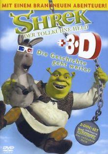 Shrek - Der tollkühne Held + Shrek 3D [2 DVDs]