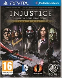 Third Party - Injustice : les Dieux sont parmi nous - Ultimate Edition Occasion [PS Vita] - 5051889426967