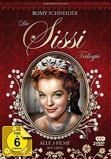 Sissi Trilogie - Purpurrot-Edition - Filmjuwelen [3 DVDs]