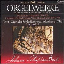 Orgelwerke - Trost-Orgel der Schloßkirche zu Altenburg (1739)