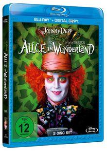 Alice im Wunderland (inkl. Digital Copy) [Blu-ray]
