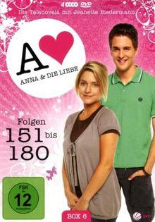 Anna und die Liebe - Box 06, Folgen 151-180 [4 DVDs]