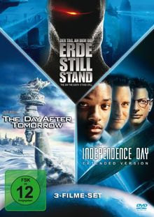 Der Tag, an dem die Erde stillstand / Independence Day, Ext. / The Day After Tomorrow (3 Discs