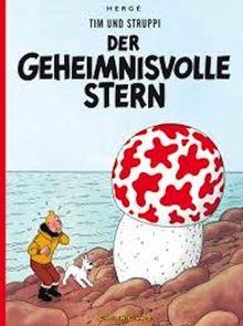 Tim und Struppi, Carlsen Comics, Neuausgabe, Bd.9, Der geheimnisvolle Stern (Tintin en Allemand)