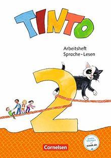 Tinto Sprachlesebuch 2-4 - Neubearbeitung 2019: 2. Schuljahr - Arbeitsheft Sprache und Lesen