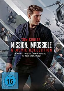 Mission: Impossible-6-Movie Collection [6 DVDs]