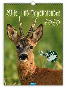 """Großbildkalender """"Wild und Jagd"""" 2020: 30 x 42 cm"""