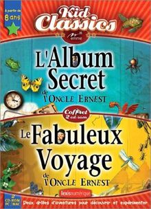Coffret Oncle Ernest : L'Album secret + Le Fabuleux voyage