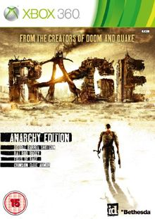 [UK-Import]Rage Anarchy Edition Game XBOX 360