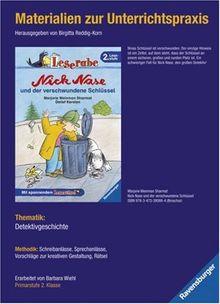Materialien zur Unterrichtspraxis - Marjorie Weinman Sharmat: Nick Nase und der verschwundene Schlüssel