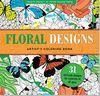 Floral Designs Artist's Coloring Book (Studio)